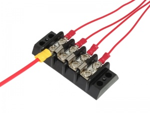 Automotive Power Distribution Block >> Bluesea Systems 30A Terminal Block - 12 way | 12 Volt Planet
